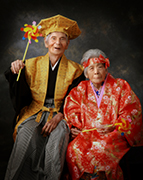 2012年九州写真師連盟主催第114回九州写真展覧会にて第3部(営業写真)-入選-1席 夫婦カジマヤー