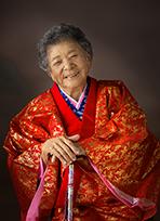 2017年九州写真師連盟主催第119回九州写真展覧会にて第3部(営業写真)-入選-10席 ハルばあちゃん